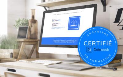 R&BI, organisme certifié Datadock